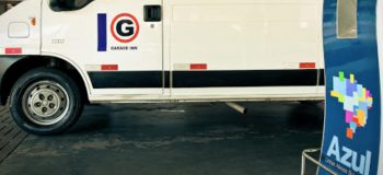 Parceria Garageinn estacionamento e Voe Azul