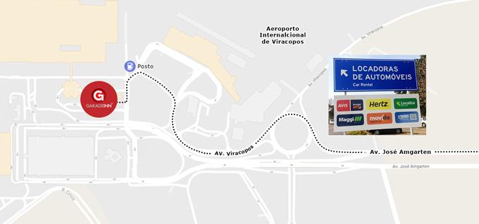 Estacionamento próximo ao Aeroporto de Viracopos Campinas - Garageinn